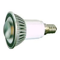 E14S4FY :: SPOT LED E14 PUISSANT 220V 4W BLANC CHAUD