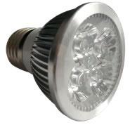 E27S6BY :: SPOT LED E27 6W 220V BLANC CHAUD TRES PUISSANT