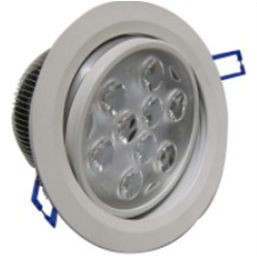 PLD9RCY :: SPOT LED ENCASTRABLE ORIENTABLE PLAFOND 220V 18W BLANC CHAUD