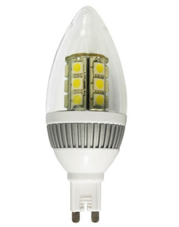 G9F3AY :: AMPOULE LED G9 FLAMME MATE 220V 3W BLANC CHAUD