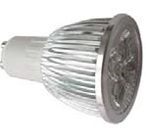GU10S8BY :: SPOT LED GU10 8W 220V BLANC CHAUD TRES PUISSANT