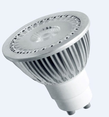 GU10S5LY :: SPOT LED GU10 5W LED SHARP BLANC CHAUD