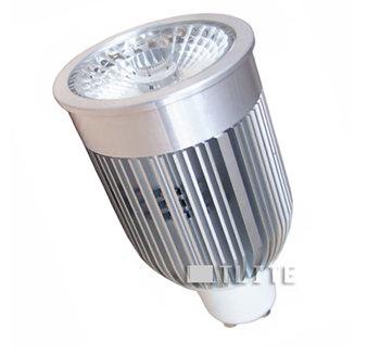 GU10S8LVY :: SPOT LED GU10 8W DIMMABLE LED SHARP 540LM BLANC CHAUD