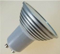 GU10SN3Y :: SPOT LED GU10 3W LED SAMSUNG BLANC CHAUD