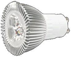 GU10S4BW :: SPOT LED GU10 220V 4W BLANC PUR