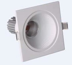 PLD8GY :: SPOT LED 8W 27V 550LM ANGLE 45 DEGRES BLANC CHAUD DE90