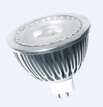 MR16S5LY :: SPOT LED MR16 5W LED SHARP 340LM BLANC CHAUD