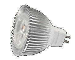 MR16SM3Y :: SPOT LED MR16 3W BLANC CHAUD