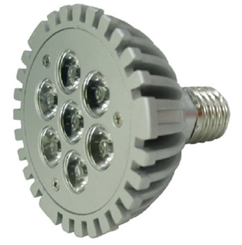 PAR30S7WE :: PAR 30 LED PUISSANT 220V 7W BLANC PUR