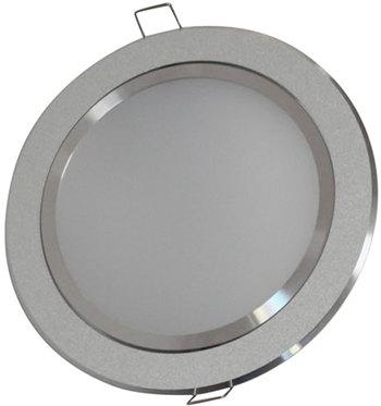 PLD6KW :: PANNEAU LED ROND ULTRAPLAT 6W 360LM BLANC PUR DE135