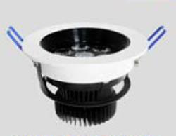 PLDAV9Y :: SPOT LED ENCASTRABLE ORIENTABLE ET DIMMABLE 9W BLANC CHAUD
