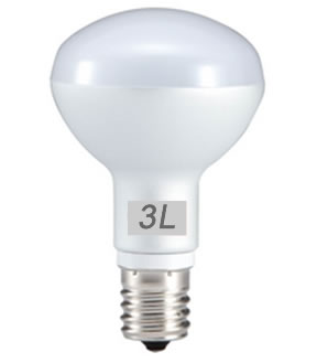 E14R5AY :: AMPOULE LED R50 5W BLANC CHAUD