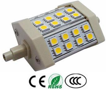 R7S5AY :: LAMPE R7S 5W 220V BLANC CHAUD