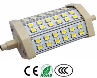 R7S8AY :: LAMPE R7S 8W 220V BLANC CHAUD