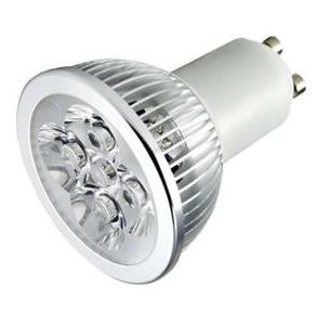 GU10SC5Y :: SPOT LED GU10 5W 220V BLANC CHAUD PUISSANT