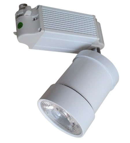 TRA16DY :: PROJECTEUR LED DIMMABLE BLANC CHAUD 16W ANGLE 24 DEGRES POUR RAIL