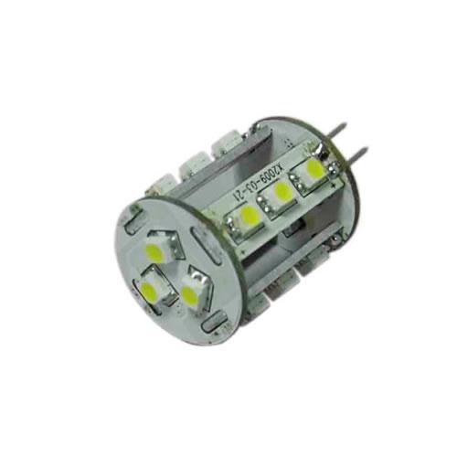 G4C1EY :: AMPOULE G4 LED 17PCS SMD5050 BLANC CHAUD