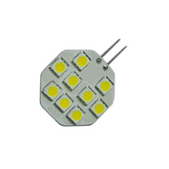 G4C1BY :: AMPOULE G4 LED 9PCS SMD5050 BLANC CHAUD