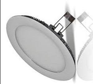 PANB10Y :: PANNEAU LED ROND ULTRAPLAT 10W BLANC CHAUD DE170