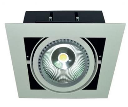 PLAD30Y :: PLAFONNIER ENCASTRABLE 30W LED COB SHARP BLANC CHAUD