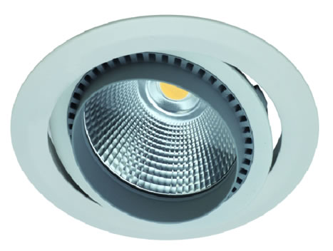 PLAF30Y-PLAFONNIER ENCASTRABLE 30W LED COB SHARP BLANC CHAUD  :: + infos - Devis