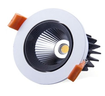 PFA6Y :: PLAFONNIERS LED ENCASTRABLE ROND 6W BLANC CHAUD DE90