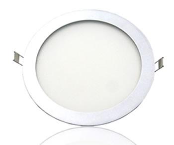 PLAC9Y :: PLAFONNIER ENCASTRABLE 9W LED SAMSUNG BLANC CHAUD DE90