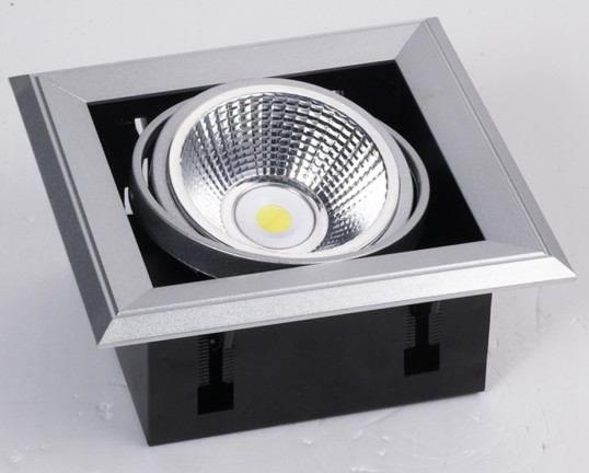 PLFL23Y :: SPOT LED COB SHARP ENCASTRABLE RECTANGLE 23W BLANC CHAUD