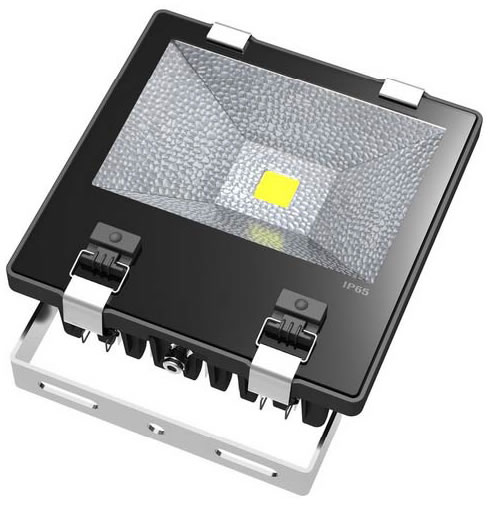 PROJM70Y :: PROJECTEUR LED EPISTAR BLANC CHAUD 220V 70W