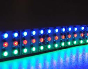 FR5YTE :: RUBAN FLEXIBLE LED EXTERIEUR TRIPLE RANGES 24V 5 METRES 360 LEDS PAR METRE